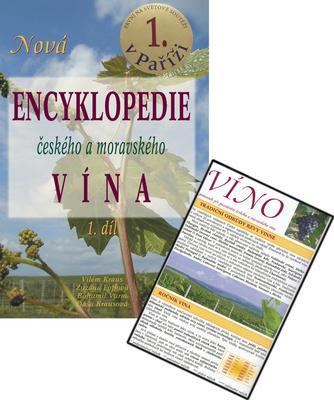 Obrázok Balíček 2ks Nová encyklopedie českého a moravského vína 1.díl+Víno