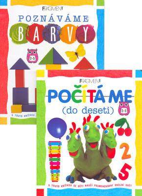 Obrázok Balíček 2ks Počítáme do deseti + Poznáváme barvy