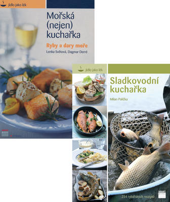 Obrázok Balíček 2ks Sladkovodní kuchařka, Mořská kuchařka