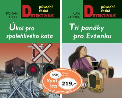 Obrázok Balíček 2ks Úkol pro spolehlivého kata + Tři panáky pro Evženku