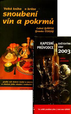 Obrázok Balíček 2ks Velká kniha o kráse snoubení vín a+ Kapesní průvodce svět. víny 03
