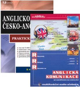 Obrázok Balíček 3ks Anglicko-český praktický slovník + multifunkční audio učebnice + CD