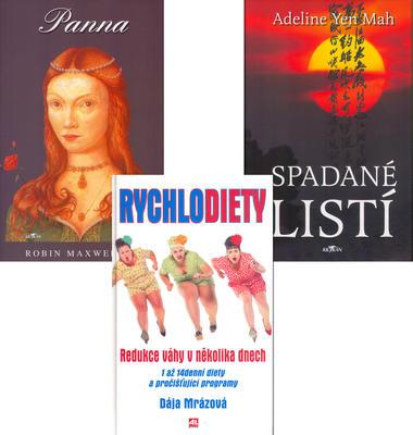 Balíček 3ks Panna + Rychlodiety + Spadané listí