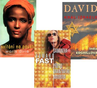 Balíček 3ks Svítání na poušti + David + Případ oranžového Mauritia