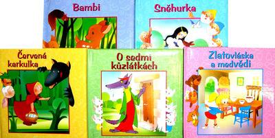 Obrázok Balíček 5ks Bambi+Sněhurka+Červená Karkulka+O sedmi kůzlátkách+Zlatovláska a...