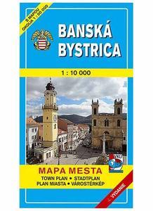 Obrázok Banská Bystrica Mapa mesta Town plan Stadtplan Plan miasta Várostérkép
