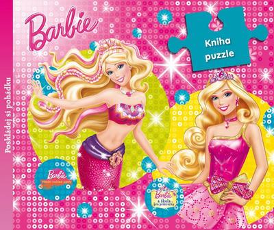 Obrázok Barbie Kniha puzzle