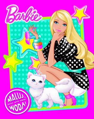 Obrázok Barbie - omalovánka