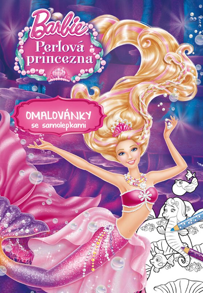 Barbie Perlová princezna Omalovánky