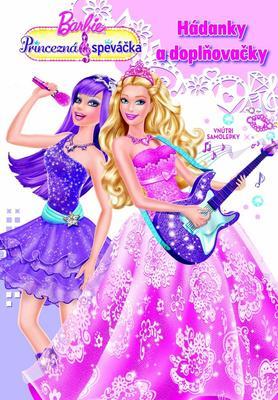 Obrázok Barbie Princezná a speváčka Hádanky a doplňovačky