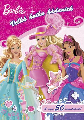 Obrázok Barbie Veľká kniha hádaniek so samolepkami