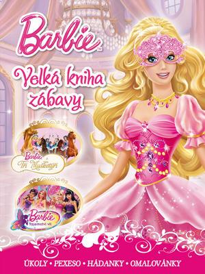 Obrázok Barbie Velká kniha zábavy