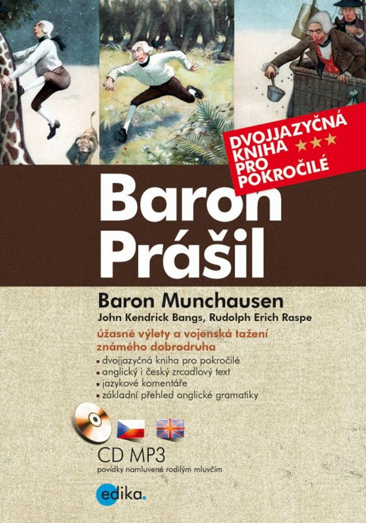 Baron Prášil Baron Munchauzen (+ CD audio MP3)