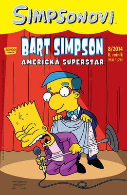 Obrázok Bart Simpson Americká superstar