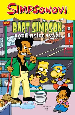 Obrázok Bart Simpson Hoch tisíce tváří