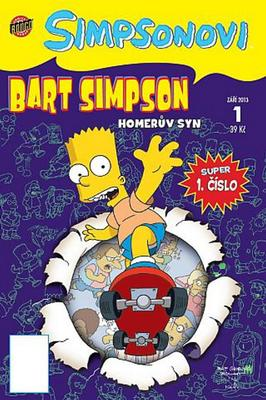 Obrázok Bart Simpson Homerův syn