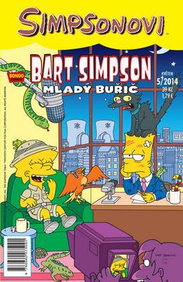 Obrázok Bart Simpson Mladý Buřič