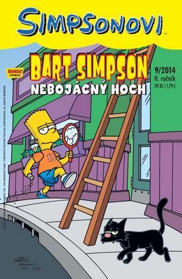 Obrázok Bart Simpson Nebojácný hoch