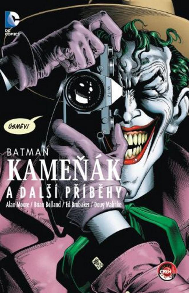 Batman Kameňák a další příběhy - Alan Moore