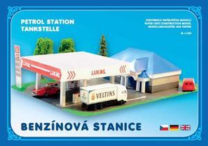 Obrázok Benzínová stanice