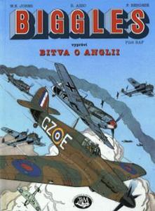 Obrázok Biggles vypráví-Bitva o Anglii