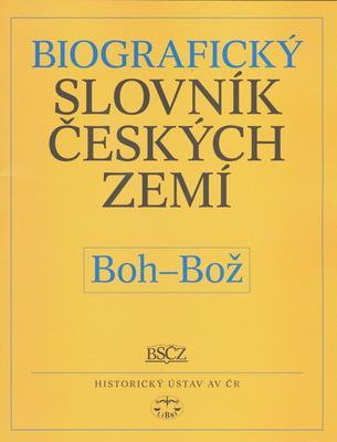 Obrázok Biografický slovník českých zemí, Boh-Bož