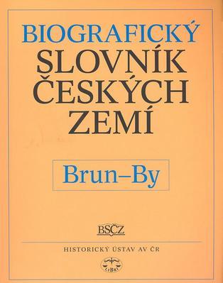 Obrázok Biografický slovník českých zemí, Brun-By