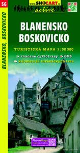 Obrázok Blanensko Boskovicko 1:50 000