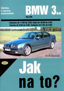 Obrázok BMW 3.. Typ E36, Limuzína od 11/89 do 3/99, Kupé od 10/90..., Touring, Compact..