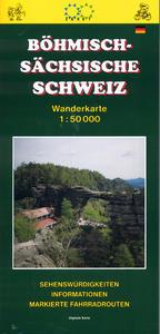 Obrázok Böhmisch - Sächsische schweiz 1:50 000