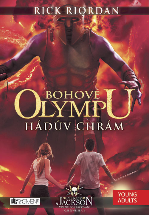 Bohové Olympu Hádův chrám - Rick Riordan