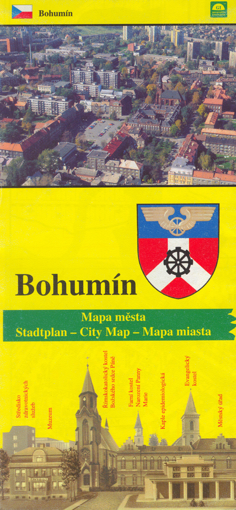 Bohumin Mapa Mesta Knihcentrum Cz