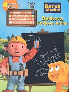 Obrázok Bořek stavitel Bořkova křídová kniha + 4 barevné křídy