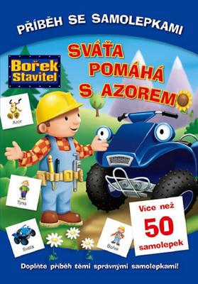 Obrázok Bořek stavitel Sváťa pomáhá s Azorem