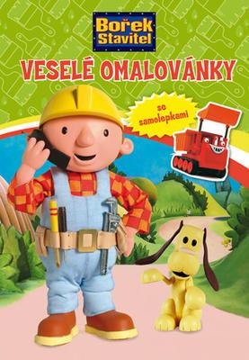 Obrázok Bořek stavitel Veselé omalovánky