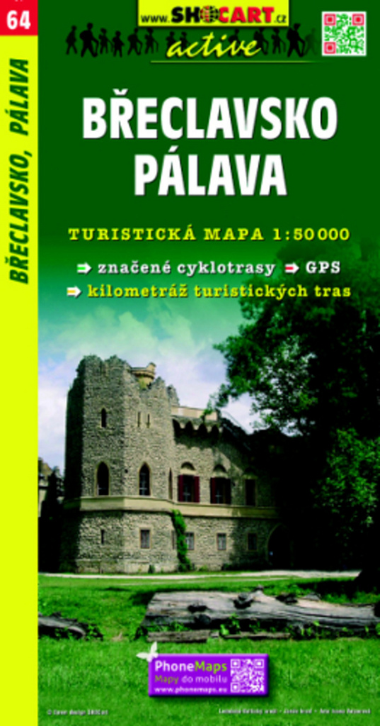 Břeclavsko, Pálava 1:50 000