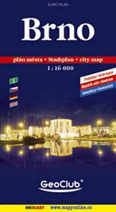 Obrázok Brno plán města 1:16 000