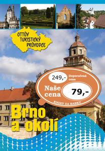 Obrázok Brno a okolí Ottův turistický průvodce