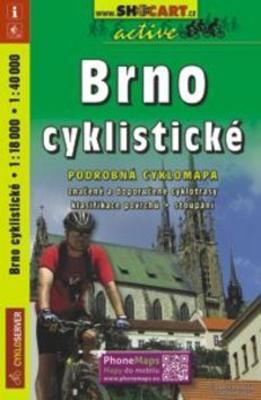 Obrázok Brno cyklistické 1:18 000, 1: 40 000