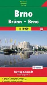 Obrázok Brno plán 1:16 000
