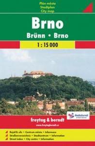 Obrázok Brno plán města 1:15 000