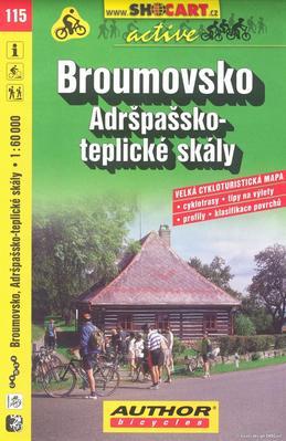 Broumovsko Adršpašsko-teplické skály 1:60 000