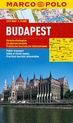 Obrázok Budapešť - lamino MD 1:15 000