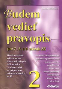 Obrázok Budem vedieť pravopis pre 7., 8. a 9. ročník ZŠ 2