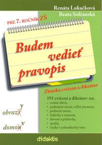 Obrázok Budem vedieť pravopis pre 7. ročník ZŠ