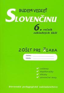 Obrázok Budem vedieť slovenčinu 6. ročník základných škôl