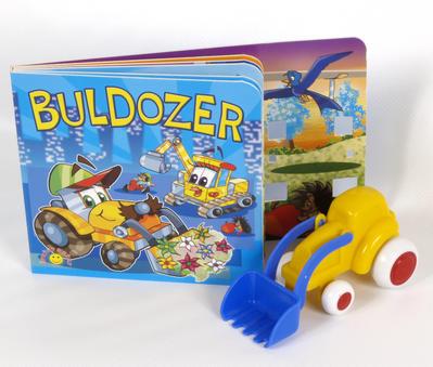 Obrázok Buldozer (+ hračka (model buldozeru))