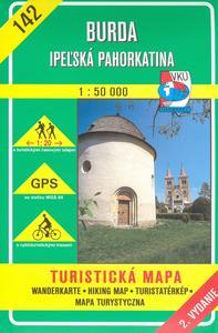 Obrázok Burda Ipeľská pahorkatina 1:50 000