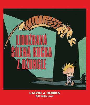 Obrázok Calvin a Hobbes Lidožravá šílená kočka z džungle (9)