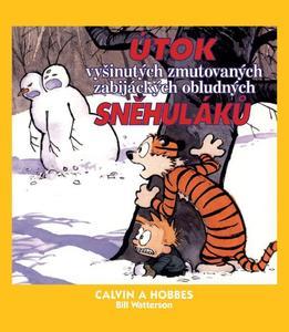 Obrázok Calvin a Hobbes Útok vyšinutých zmutovaných zabijáckých obludných sněhuláků